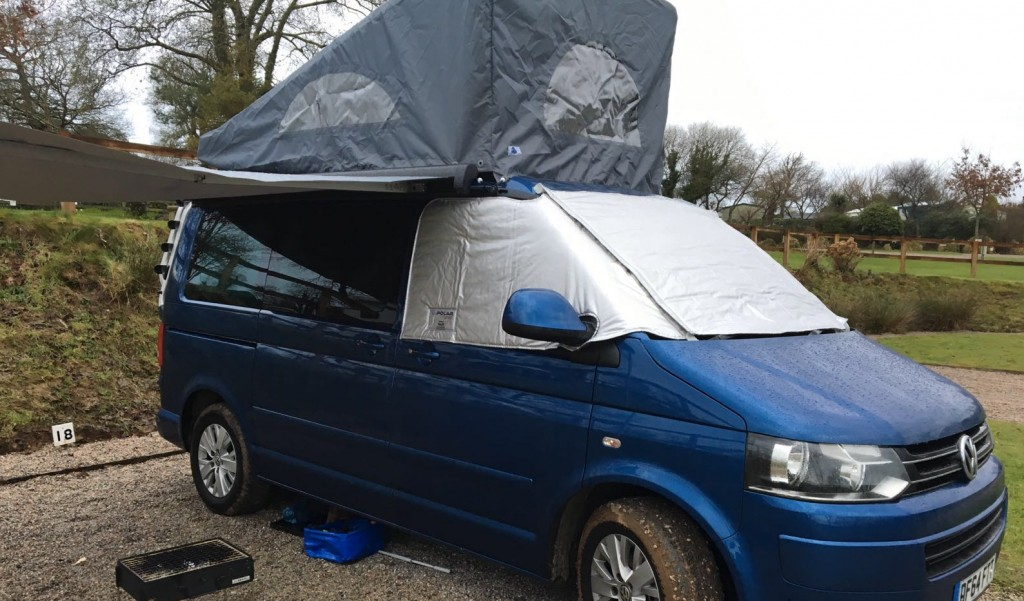 VW Camper Hire Ready For Winter Camping