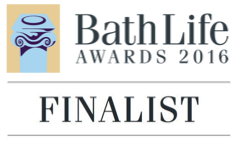 Finalist logo for Bath Life Awards 2016