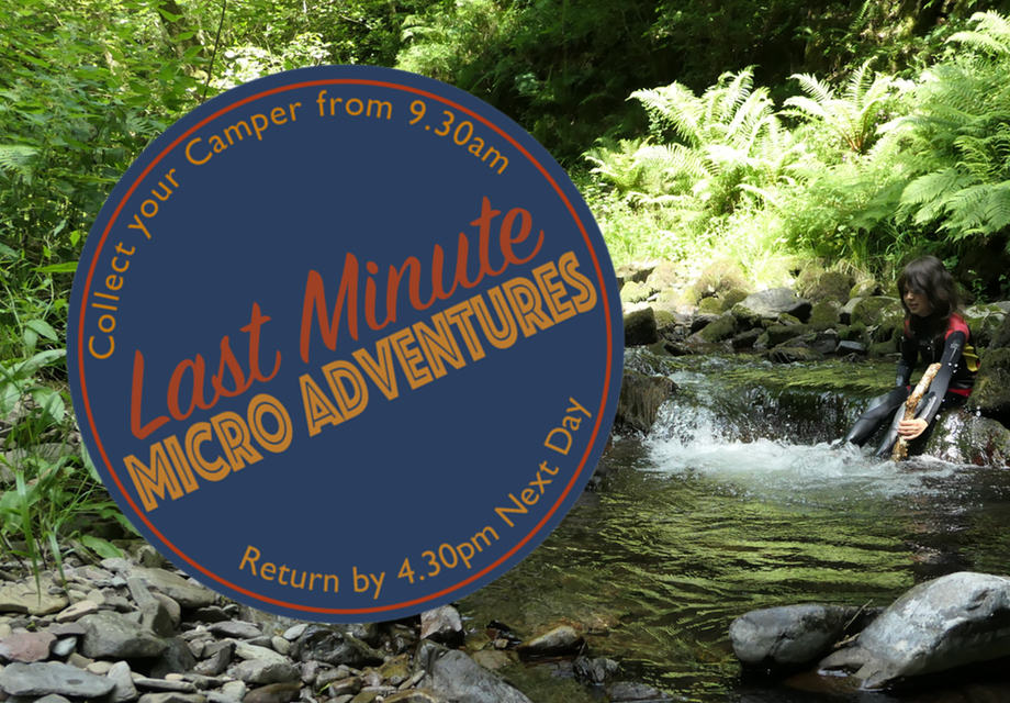 Logo Last Minute Micro Adventures by the river